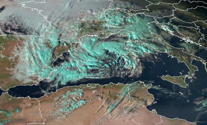 Tormenta tropical en el Mediterráneo: MEDICANE Trop2