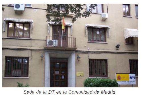 Delegaciones Territoriales De Aemet Comunidad De Madrid