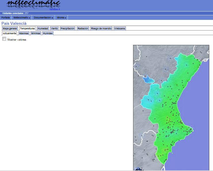 Datos históricos de variables meteorológicas para compañías de ...