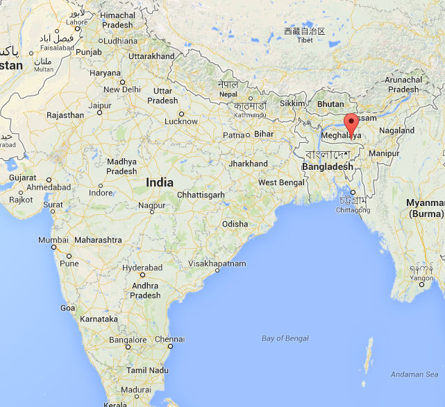 Cherrapunji India  City pictures : Cherrapunji, India, nuevo récord mundial de lluvia en 48h | Revista ...