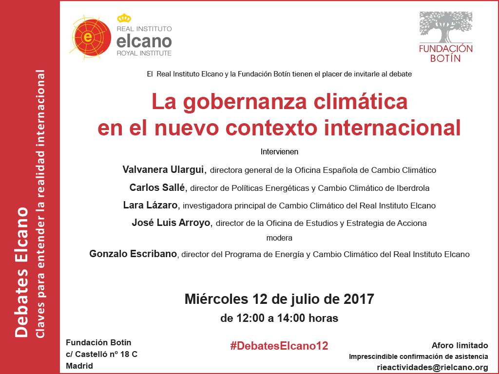 La gobernanza clim tica en el nuevo contexto internacional revista del aficionado a la - Oficina espanola de cambio climatico ...
