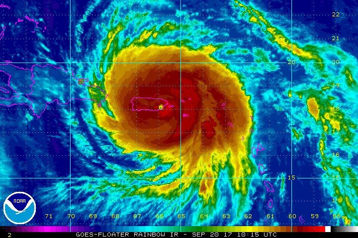 Los da os r cords del hurac n maria revista del - Puerto rico huracan maria ...