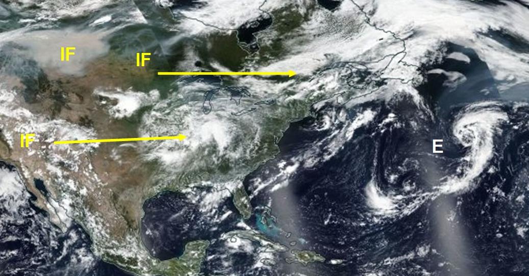 Meteorólogos pronostican que 'Lane' se convertirá en huracán el fin