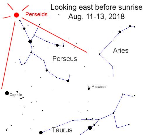 La mejor lluvia de meteoros 2018 será visible en agosto