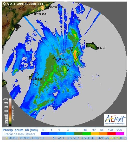 Tragedia en Mallorca: declarada zona catastrófica por las fuertes lluvias