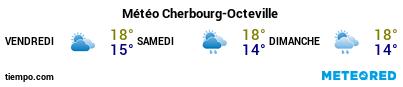 Météo au port de Cherbourg-Octeville pour les 3 prochains jours