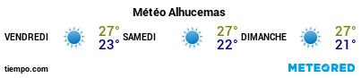 Météo au port de Al Hoceima pour les 3 prochains jours