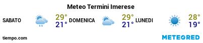 Previsioni del tempo nel porto di Palermo (Termini Imerese) per i prossimi 3 giorni