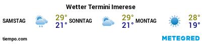 Wettervorhersage im Hafen von Termini Imerese für die nächsten 3 Tage