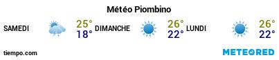 Météo au port de Piombino pour les 3 prochains jours