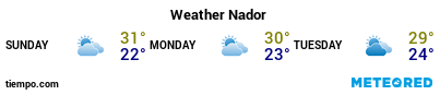 Weather forecast at the port of Ghazaouete for the next 3 days