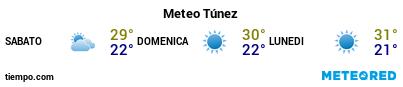 Previsioni del tempo nel porto di Tunisi per i prossimi 3 giorni