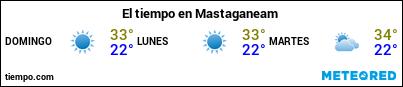 Previsión del tiempo en el puerto de Mostaganem para los próximos 3 días
