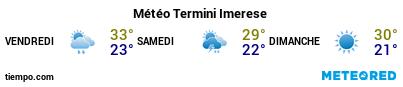 Météo au port de Termini Imerese pour les 3 prochains jours