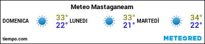 Previsioni del tempo nel porto di Mostaganem per i prossimi 3 giorni