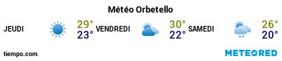 Météo au port de Porto-Vecchio pour les 3 prochains jours