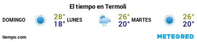 Previsión del tiempo en el puerto de Térmoli para los próximos 3 días
