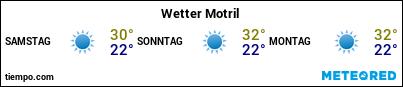 Wettervorhersage im Hafen von Motril für die nächsten 3 Tage